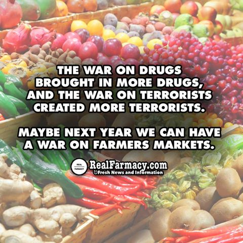 Farmers market war